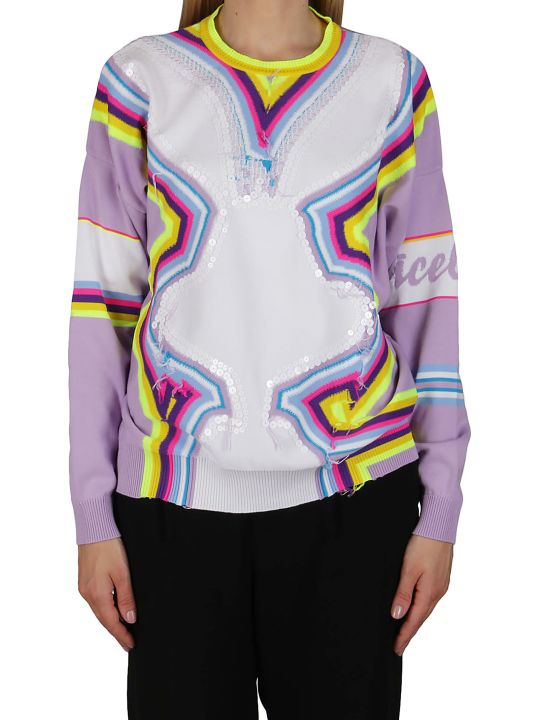 Iceberg Multicolor Cotton Jumper