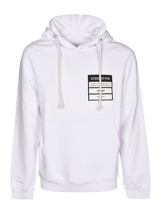 Maison Margiela Stereotype Patched Hoodie
