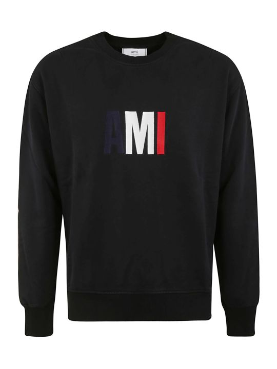 Ami Alexandre Mattiussi Initials Logo Print Sweatshirt