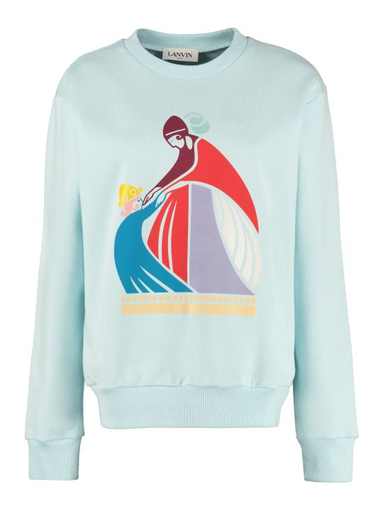 Lanvin Printed Cotton Sweatshirt