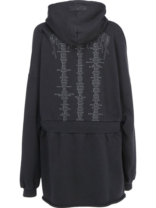 VETEMENTS Hoodie Dress
