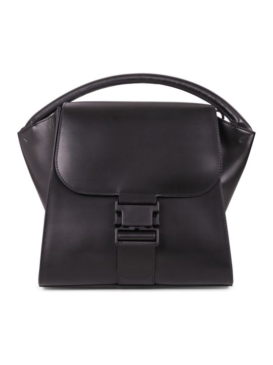 Zucca Black Buckled Bag M