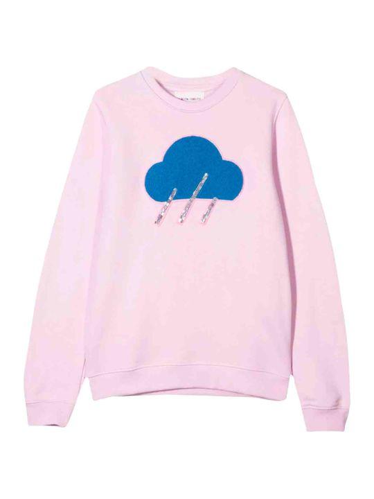 Alberta Ferretti Alberta Ferretti Pink Sweatshirt Kids Teen