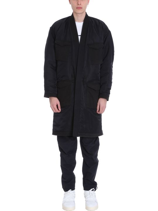 Maharishi Black Fabric Coat