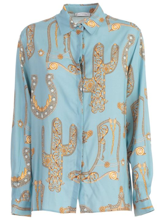 Versace Collection Shirt L/s Baroque Printing