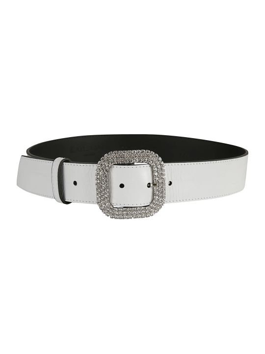 Kate Cate Crystal Buckled Belt