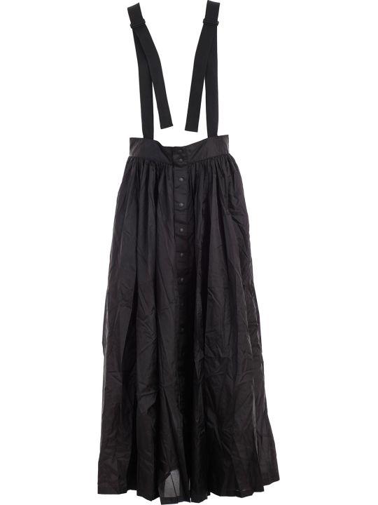 Y-3 Yohji Yamamoto Adidas Suspenders Skirt