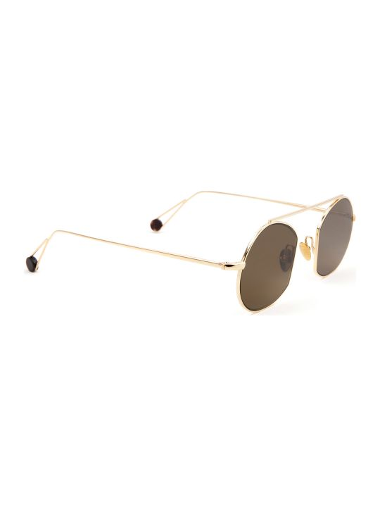 AHLEM Ahlem Place Des Victoires Champagne Sunglasses