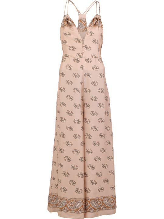 Nanushka Paisley Print Silk Dress