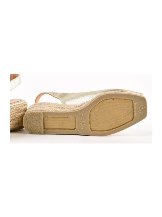57331e981 Castañer Castañer Castañer Peep Toe Slingback Sandals - Champagne -  10598163   italist