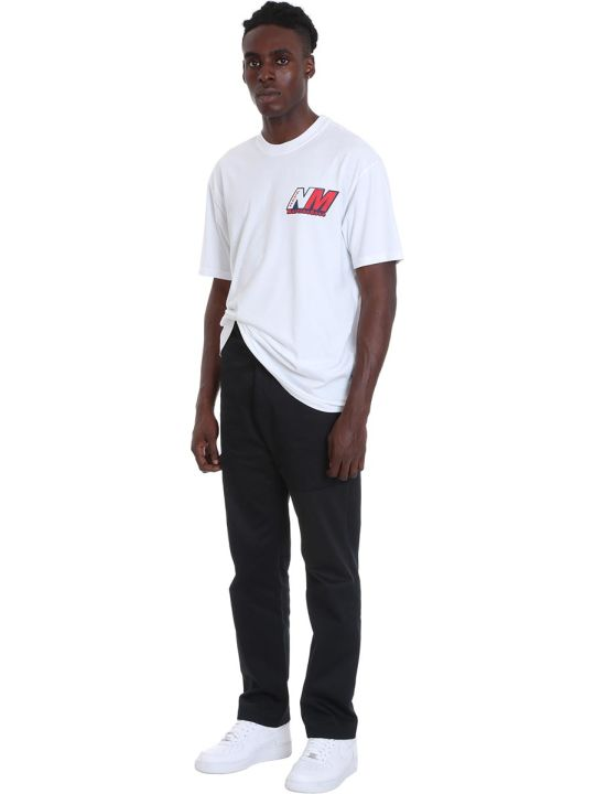 Napa By Martine Rose S-ocelot T-shirt In Black Cotton