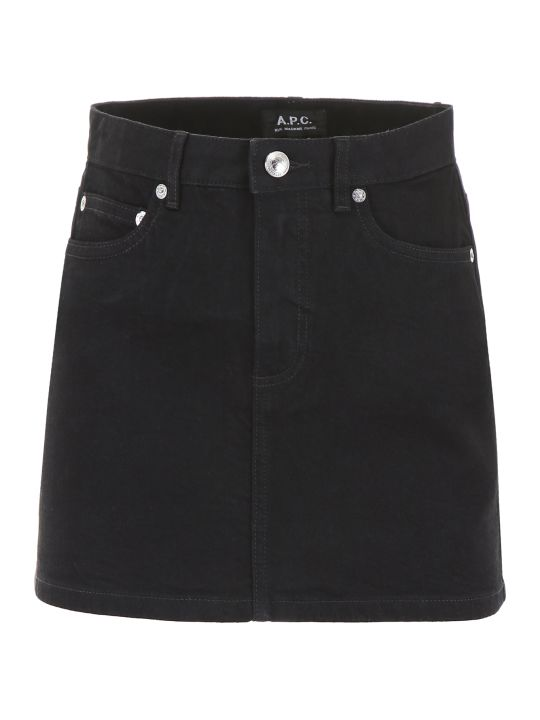 A.P.C. Denim Mini Skirt