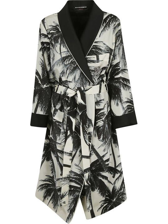 Ermanno Scervino All-over Printed Cardi-coat