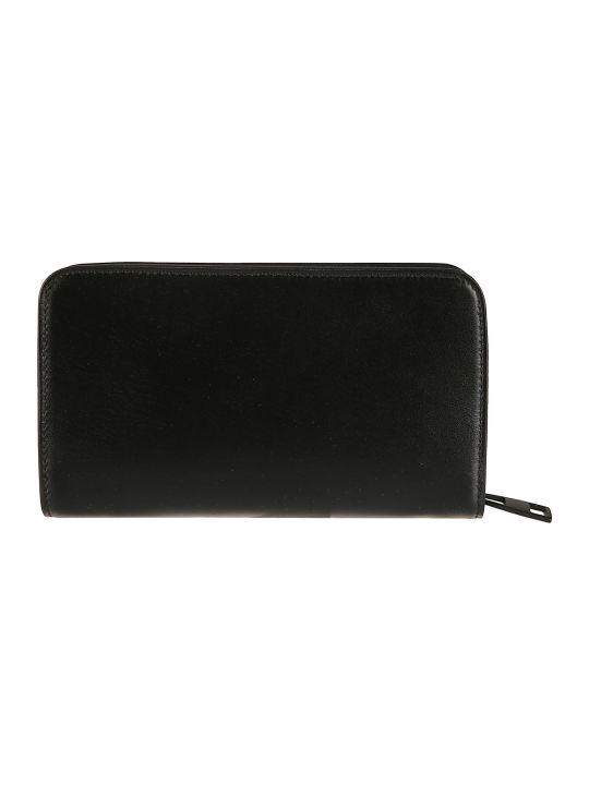 Alexander McQueen Logo Print Zip-around Wallet