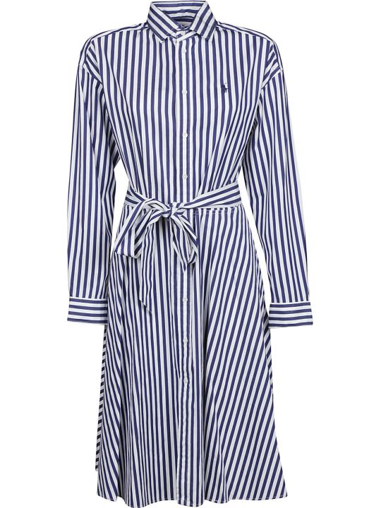 Ralph Lauren Striped Shirt Dress