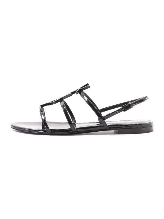 Saint Laurent Flat Sandals Cassandra
