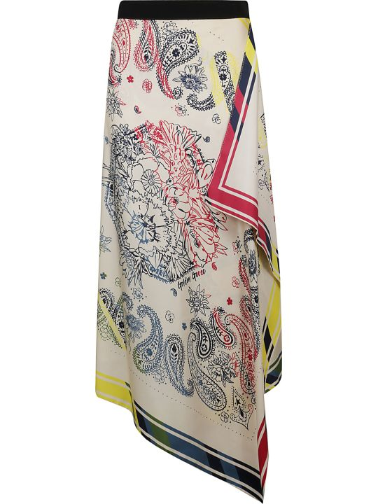 Golden Goose Paisley Print Skirt