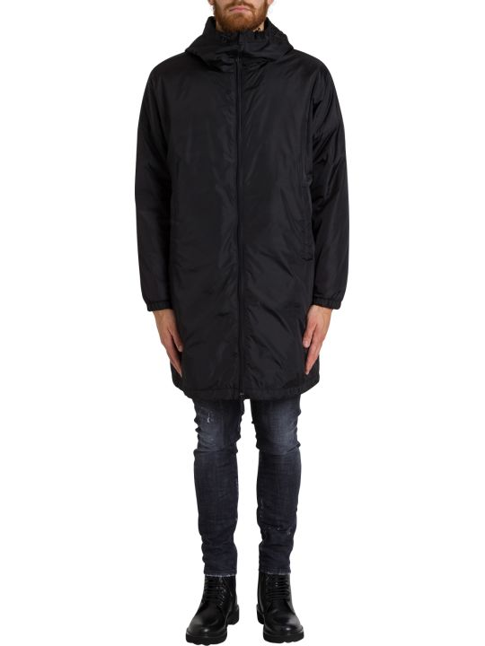 Dsquared2 Oversize Padded Parka With Rear Logo Print