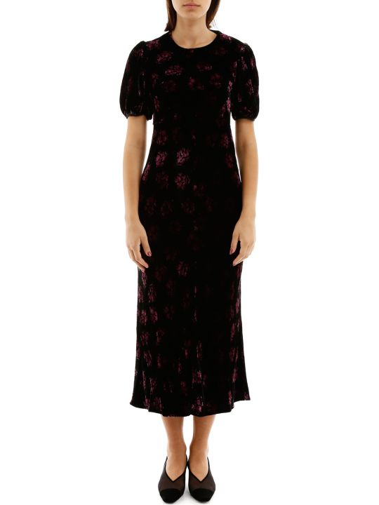RIXO Floral-printed Dress