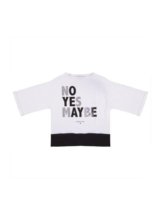 Patrizia Pepe Maxi T-shirt No Yes