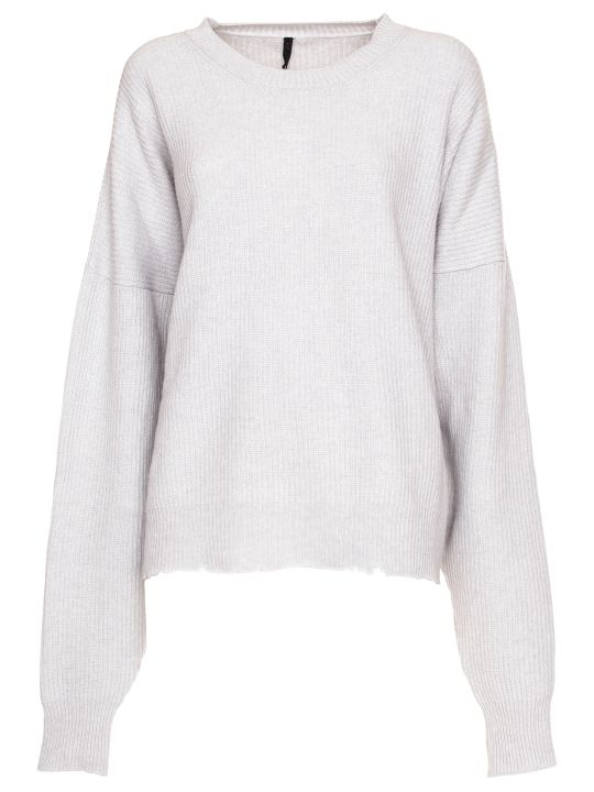 Ben Taverniti Unravel Project Unravel Project Long Sleeve Wool Blend Sweater