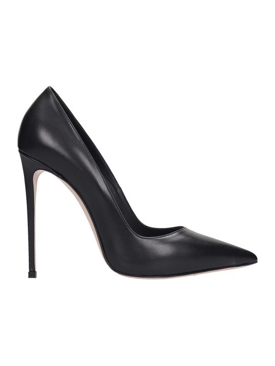 Le Silla Pumps In Black Leather