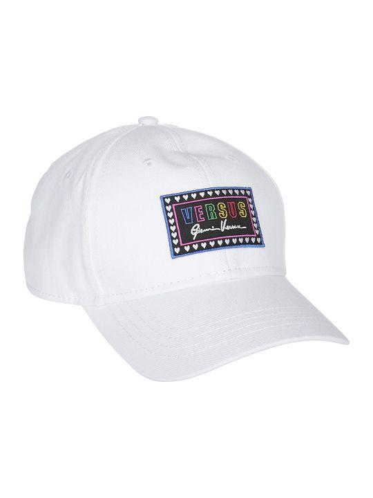 Versus Versace Logo Patch Cap