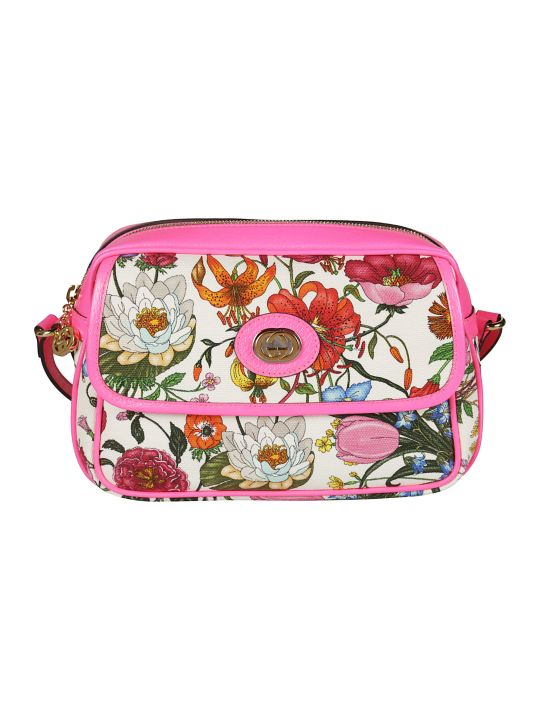 Gucci Floral Shoulder Bag