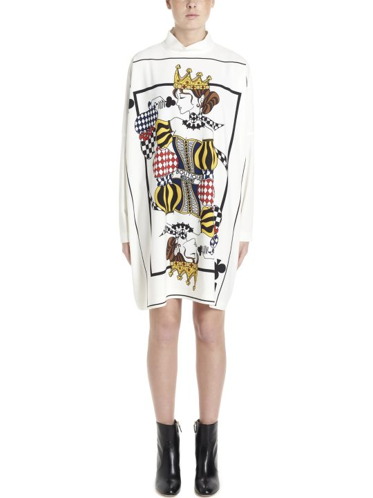 Boutique Moschino 'cards' Dress