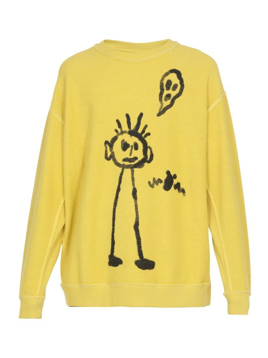 Marcelo Burlon Kid Sketch Sweatshirt
