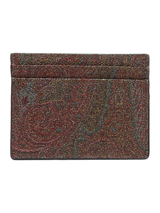 Etro 'paisley Classic' Cardholder
