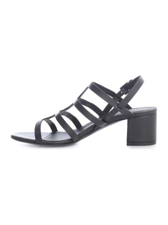 Del Carlo Sandals W/symmetrical Laces