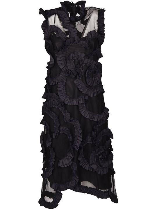 Moncler Genius Ruffle Detail Dress