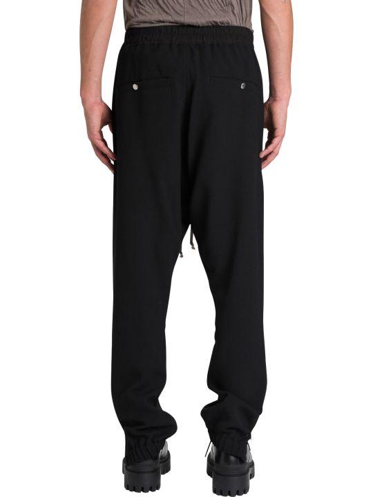 Rick Owens Larry Wool Crepe Track Pants