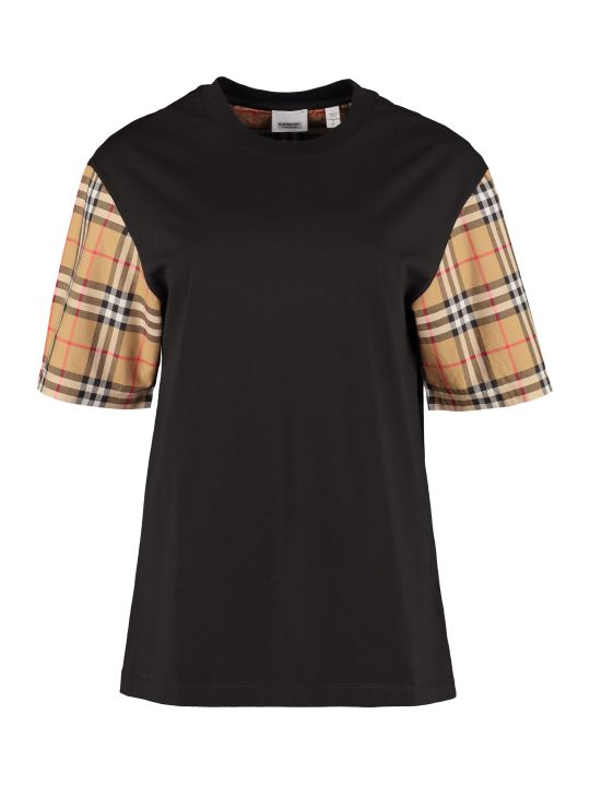 Burberry Stretch Cotton T-shirt