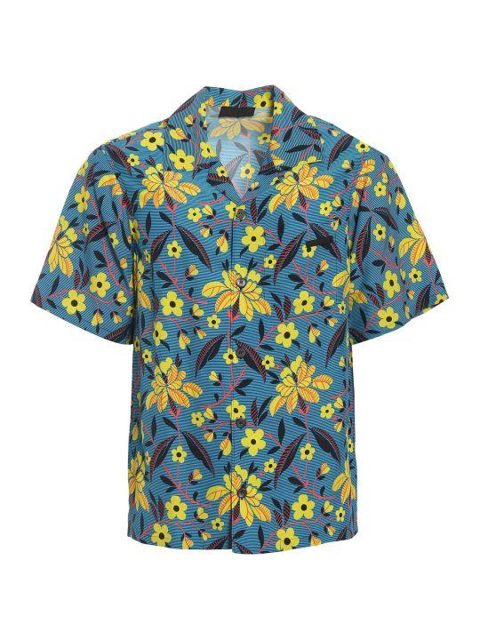 Prada Floral Print Shirt