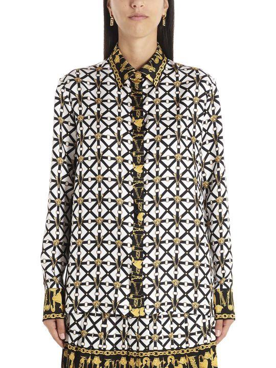 Versace 'belts E Meduse' Shirt