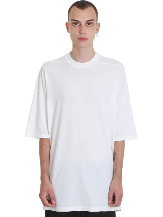 DRKSHDW Jumbo Tee T-shirt In White Cotton