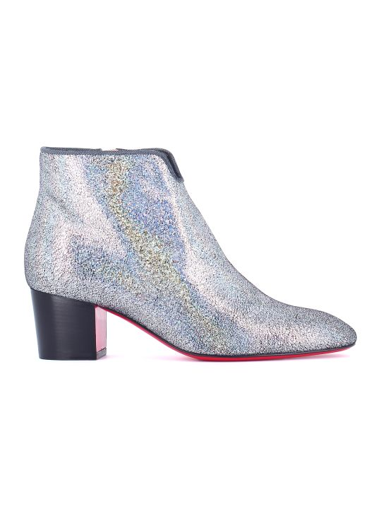 "Christian Louboutin Ankle Boots ""disco 70s"""