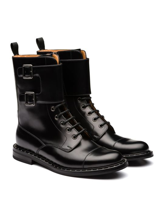 Church's Leather Boot Black