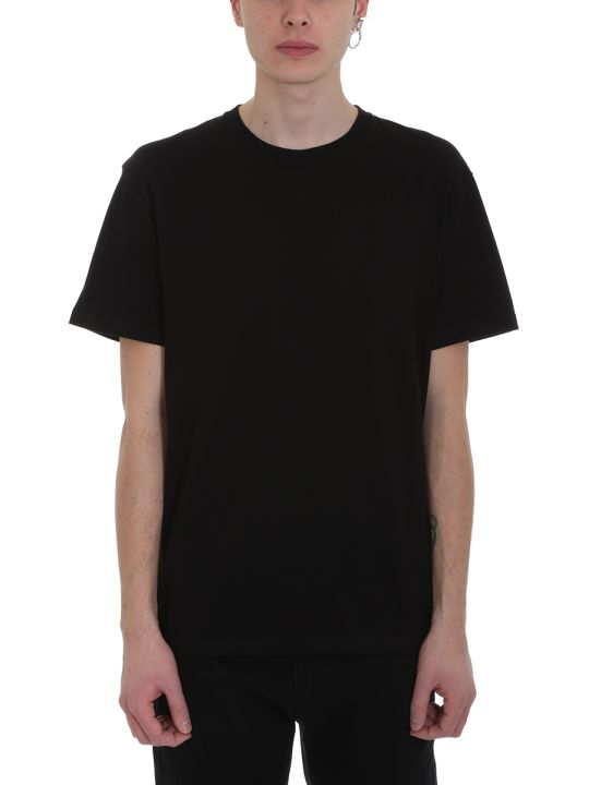 Raf Simons Punk Black Cotton T-shirt