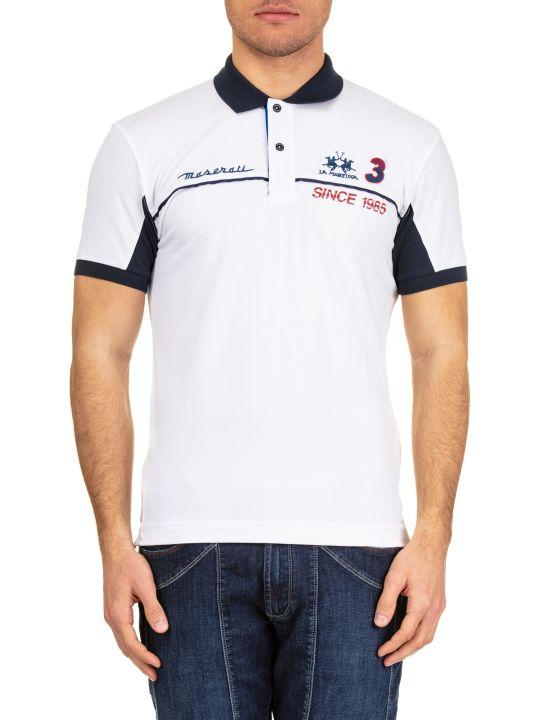 La Martina La Martina Cotton Piquè Polo Shirt