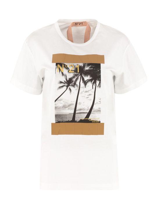 N.21 Crew-neck Cotton T-shirt