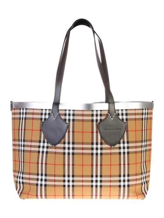 Burberry The Giant M Canvas Bag