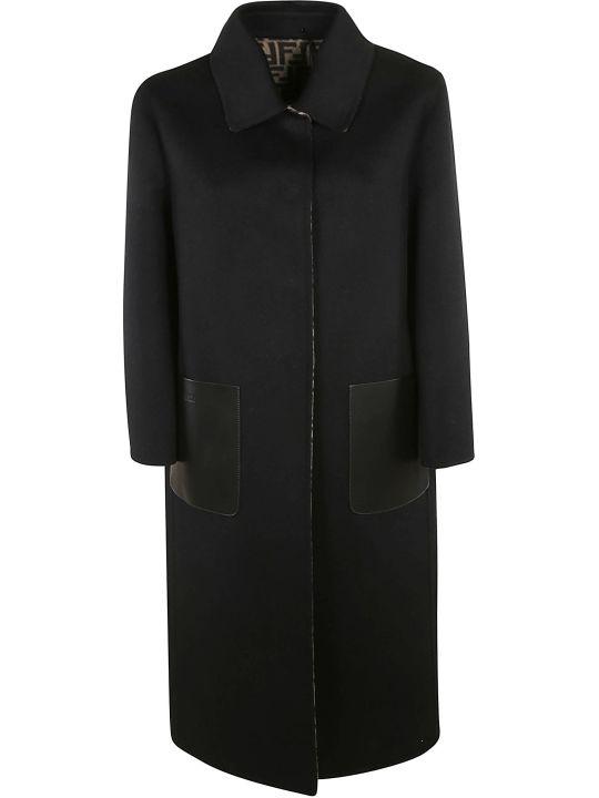 Fendi Ff Double Wool Coat