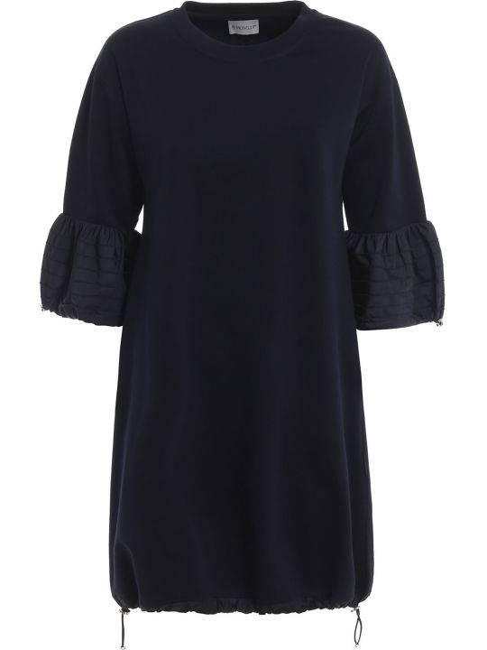 Moncler Ruffle Sleeve Dress