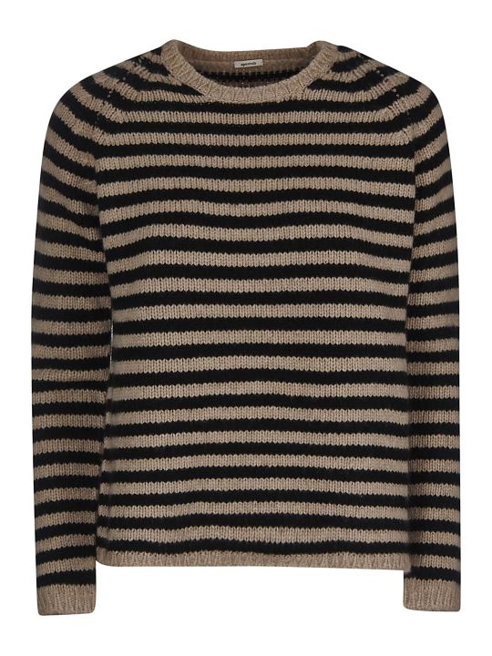 A Punto B A.b Stripe Knitted Sweater