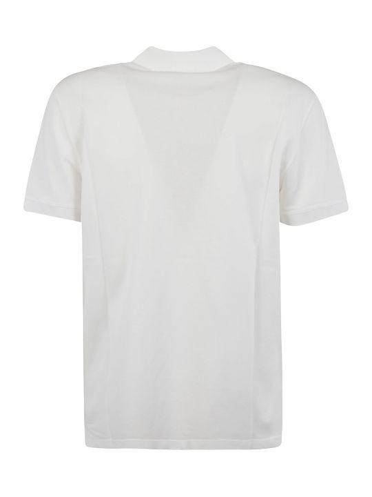 Alexander McQueen Flower Detail Polo Shirt