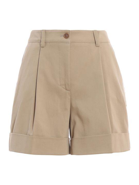 Parosh P.a.r.o.s.h. Pleated Shorts