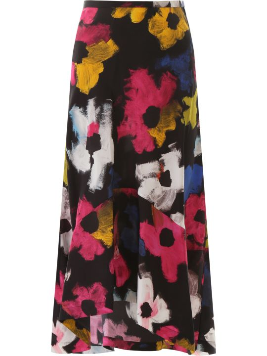Colville Floral-printed Skirt